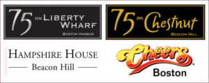 75 Liberty Whard, 75 Chestnut, Hampshire House, Cheers Boston