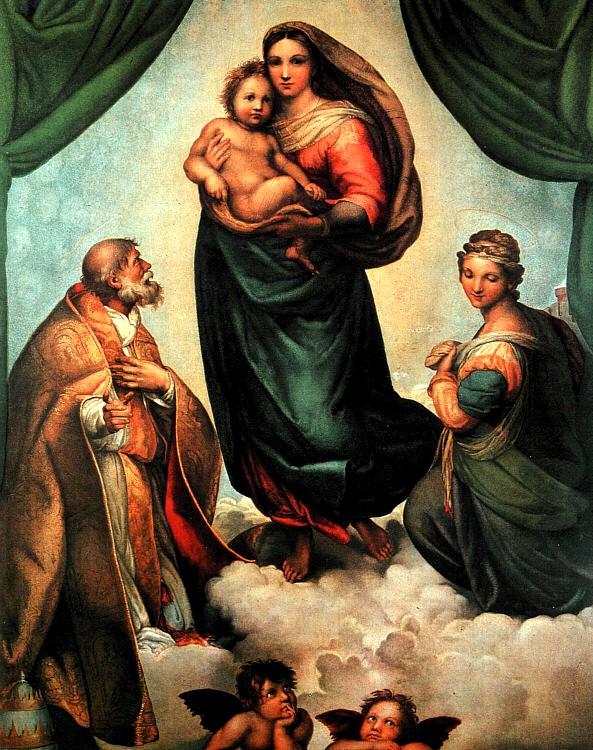 the Madonna Sistina